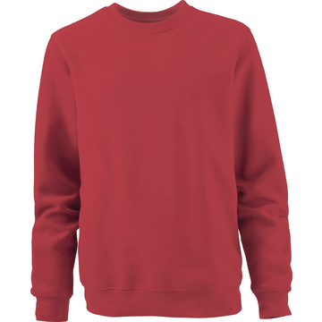 Sweat-Shirt Basic, rot, Größe 4XL